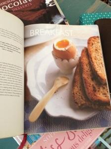 recipe in book